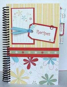Instead of recipes guests can share their beauty tip/trick. They can mail these with their RSVP. This idea goes with the spa/pampering theme. The inside just is 5x7 photo holders to slip the index cards in.