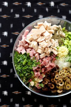 Muffuletta Pasta Salad by joy the baker by joy the baker, via Flickr