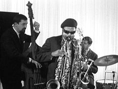 Roland Kirk's favorite part of the evening was draining his spit valves.