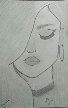 You know it kinda looks like selena gomez amazing drawings, easy drawings, cute drawings Easy Pencil Drawings, Easy Drawings Sketches, Cool Art Drawings, Beautiful Drawings, Drawing Ideas, Simple Sketches, Drawing Tips, Pencil Drawing Tutorials, Cool Drawings Tumblr