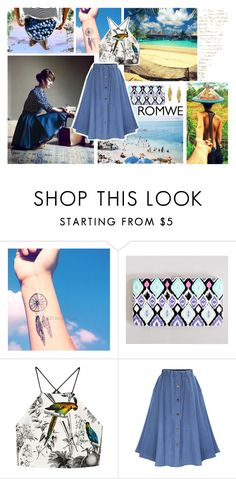 """MIssing what hadn't gone yet"" by mssantos ❤ liked on Polyvore featuring Milly, Murad and Kenneth Jay Lane"