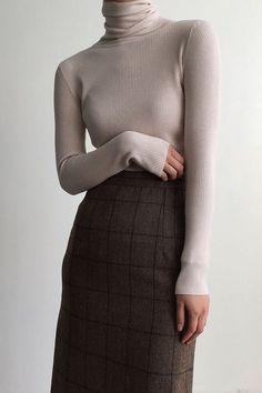 korean style fashion cozy minimalism #womensfashionskirts