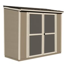 heartland scottsdale lean to engineered wood storage shed common 8 f