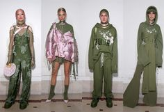 Discover every single look at #Rihanna FENTY x PUMA Spring Summer 2017 Collection #SS17 #ParisFashionWeek #PFW Look_05