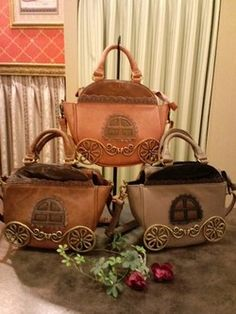 Axes Femme Carriage bag (I love Axes Femme bags, as you can see) or Anna Sui Carriage bag