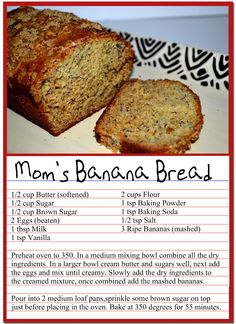 Bananenbrot Lebensmittel Brotwelt Banana bread Banana Bread Food Bread World Banana bread bread recipe Nut Bread Recipe, Easy Bread Recipes, Banana Bread Recipes, Homemade Banana Bread, Bisquick Banana Bread, Fast Recipes, Chocolate Chip Banana Bread, Banana Bread Baking Powder, Banana Bread Recipe Without Baking Soda