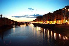 All'imbrunire ... dal Ponte Vecchio