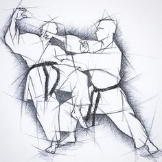 #zeichnung #drawing #disegno #skizze #sketch #karate #karatedo #shotokan #dojo #dan #meistergrad #budoka #schwarzgurt #kuroobi #blackbelt #morote #tettsui #kampfkunst #martialarts #karetefamily #karatemaster #karateislife #karateman #karate4live #karateteam