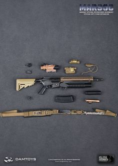 DAMTOYS USMC MARSOC Special Ops Team Operator - 0055