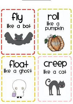 is for Halloween - Lots of Halloween activity ideas Halloween Theme Preschool, Fall Preschool, Preschool Themes, Preschool Lessons, Halloween Crafts For Kids, Preschool Classroom, Halloween Themes, Kindergarten Worksheets, Halloween Dance