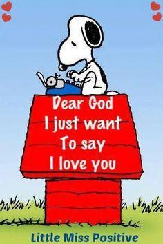 Dear God.