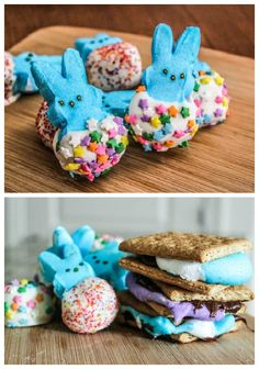 Chocolate Covered Peeps & Peeps S'mores Recipe