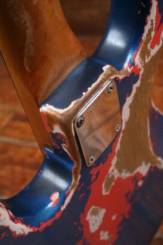 Herbie Flowers' infamous '59 Jazz Bass: Primer under Fiesta Red under Lake Placid Blue Metallic (no clear coat). See http://curtisnovak.com/vintage/JazzBass59/ and hear http://youtu.be/XBXUP5GqYJs