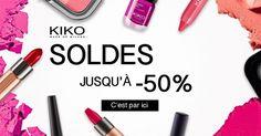 C'est le moment de refaire sa trousse à maquillage   ! Super Soldes chez KIKO #KikoHaul #ad