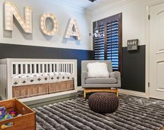 Small contemporary kids' room idea featuring a lambskin throw pillow