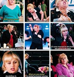 Fat Amy is just too darn Hilarious! Pitch Perfect Quotes, Pitch Perfect 1, Fat Amy, Great Movies, Iconic Movies, My Favorite Music, Favorite Quotes, Famous Movie Quotes, Movie Lines