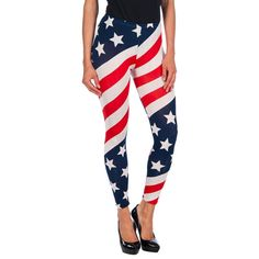 Leggings con estampado USA http://www.cambiadepostura.com/es/shp24495/intimax-legging-usa-red