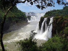 Argentina - Iguazù Falls by vtveen, via Flickr