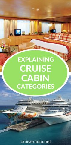 One of the biggest challenges to booking a cruise is making sure you wind up in the cruise stateroom you want. We break down the cabin categories for you.