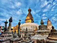 Kathmandu au Népal #voyage #travel #Asie