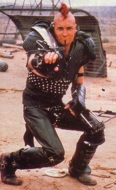 Vernon Wells as Wez in Mad Max 2 The Road Warrior, Chernobyl, Mad Max 2, The Road Warriors, Post Apocalyptic Fashion, Mad Max Fury Road, Mel Gibson, Westerns, Post Apocalypse, Actors