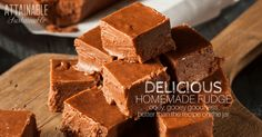 This melt in your mouth fudge is the perfect sweet holiday treat. Try this gourmet fudge once; it will be the only recipe you'll ever use.