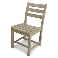 Trex Outdoor Furniture TXD100 Monterey Bay Outdoor Dining Side Chair