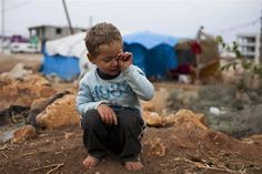 """A traumatized Syrian boy is unable to speak"" http://nbcnews.to/1AagCYw  That's the biggest horror about all the stupid shit going on in this world, the kids. They don't ask for it and certainly don't cause it but always suffer the most!! Just heartbreaking!! Why can't ""adult"" men grow the hell up and stop creating war and destruction??!!!! CC"