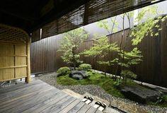 Organic Gardening At Home Indoor Courtyard, Indoor Garden, Home And Garden, Modern Japanese Garden, Japanese House, Zen Garden Design, Landscape Design, Japan Garden, Interior Garden