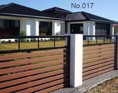 Unutterable Wood fence 1 acre cost,Wood fence 19067 and Modern fence landscaping. Brick Fence, Front Yard Fence, Metal Fence, Fenced In Yard, Pallet Fence, Dog Fence, Wooden Fences, Glass Fence, Fence Stain