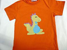 Camiseta de dinosaurio  de La casita de Caperucita por DaWanda.com