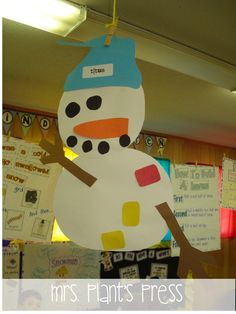 Snowmen at night Winter Activities, Art Activities, Classroom Activities, Make A Snowman, Snowman Crafts, Winter Art, Winter Theme, Winter Ideas, Winter Crafts For Kids