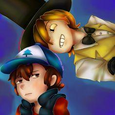 Dipper And Bill by sakuramochixninja on deviantART
