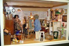 The Artist's Studio | von Museum of Miniature Houses
