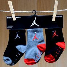 Air Jordan Baby 3 Pack Socks
