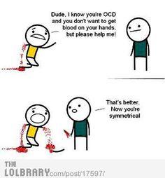 ocd people
