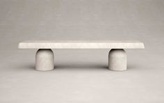Henge Bench by Francesco Balzano and Valeriane Lazard Bench Furniture, Home Furniture, Furniture Design, Outdoor Furniture, Outdoor Decor, Dream Furniture, Coffe Table, Modern Coffee Tables, Table Haute
