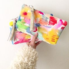 unicorn clutches✨ one of a kind, now available.