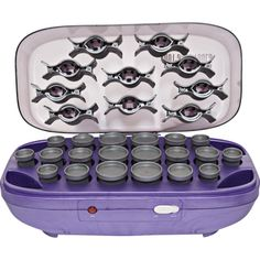 Hot Shot Tools Hairsetter With 20 Flocked Rollers