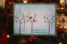 simple, yet beautiful Handmade Christmas Card