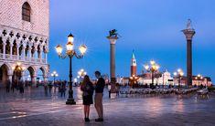 Couple on Piazzetta San Marco - Venice