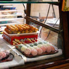 Visiting San Francisco Kissako Tea moochi on a stick San Francisco Japantown. San Francisco Food, San Francisco Restaurants, San Francisco Travel, San Francisco Bay, Shopping In San Francisco, San Francisco Attractions, Food Places, Places To Eat, Travel