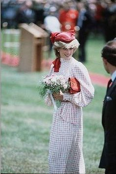 Charles & Diana - Those cute little hats she wore in the early years were my favorite.