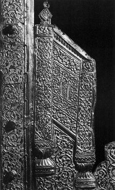 """russianGold-Оклад иконы """"Троица"""" 1592-1600. Москва. Фрагмент"""