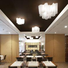 design-bestseller Artemide - Logico Singular wandlamp - L Restaurant Lighting, Restaurant Design, Apartment Lighting, Modern Lighting Design, Design Bestseller, Structure Metal, Elegant Dining, Glass Diffuser, Led Lampe