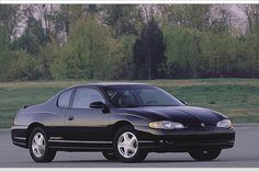 2001 Monte Carlo SS--the day after I bought this car (one like it), Dale Earnhardt won his last race at Talladega.
