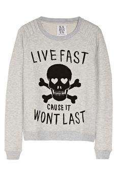 Live fast cause it won't last