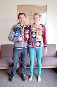 Ugly Sweater DIY... Making your ugly Christmas sweater... UGLIER!
