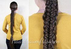 Fischgrätenvariante - Haartraum - Frisuren und Anleitungen geflochten, hochgesteckt und mehr