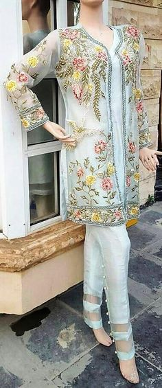 Pakistani Dress Elan Eden Collection Inspired Embroidered